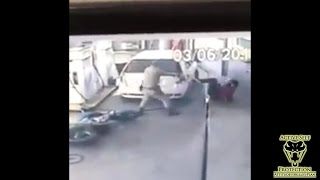 Armed Robbers Get More Than They Bargained For