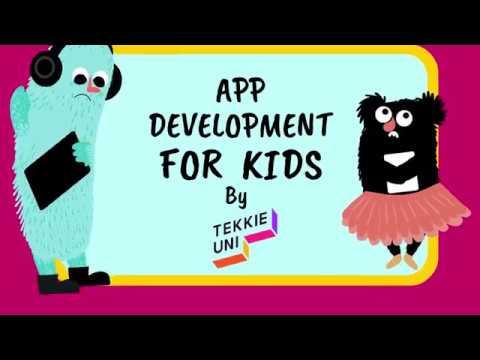 App Developement for Kids - Online Coding Course from Tekkie Uni