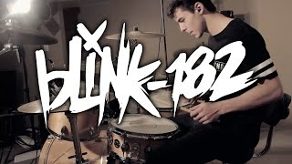 bored to death   blink 182   drum cover