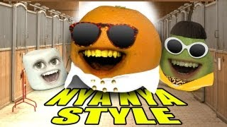 Repeat youtube video Annoying Orange - ORANGE NYA NYA STYLE (GANGNAM STYLE PARODY)