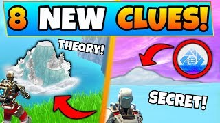 Fortnite SEASON 7: ICEBERG & SECRET in the SNOW STORM! - 8 Clues and Theories in Battle Royale!