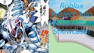 Roblox Project Jojo White Album Showcase!