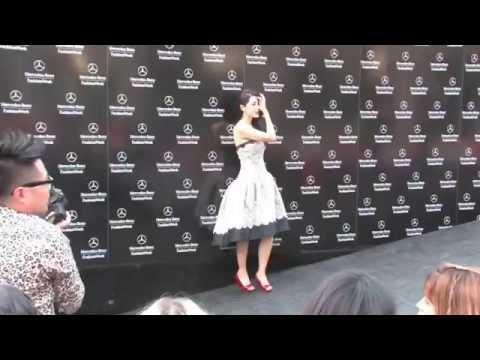 Zeng Li Attends Tadashi Shoji Spring 2014 fashion show In NYC