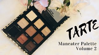 GRWM Tarte Maneater palette - mature makeup/hooded eyes