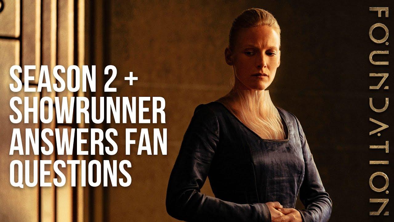 Foundation Season 2 Announcement | Showrunner Answers Fan Questions