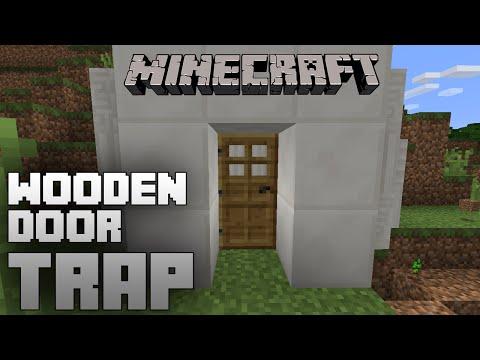 Minecraft - Wooden Door Trap