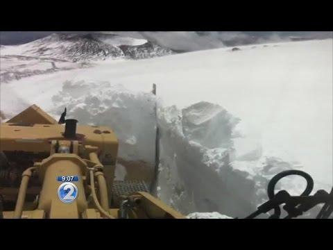 Video: Snow on Mauna Kea