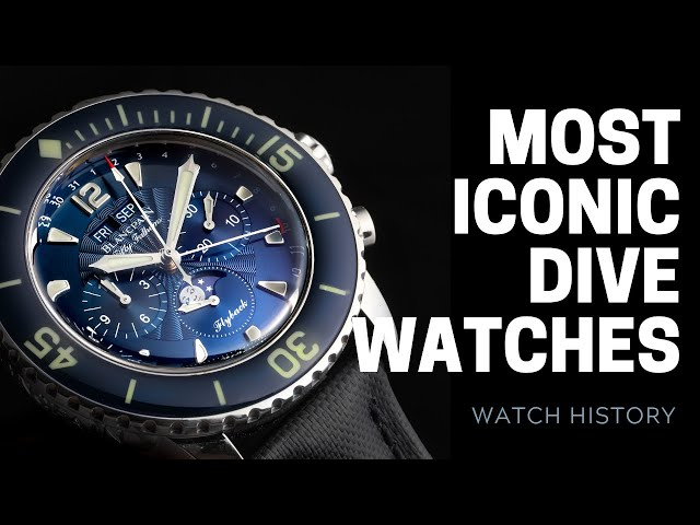 Best Dive Watches - Rolex, Omega, Blancpain   SwissWatchExpo [Watch History]