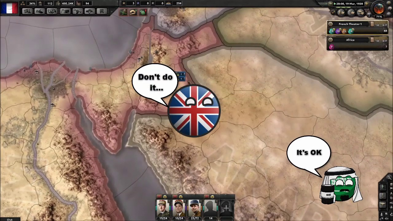 Hoi4 mp in a nutshell episode 7 (Puppets)