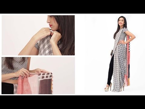 How To Wear A Saree Pant Style - Fashion For Girls - Glamrs