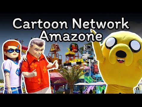 เที่ยวสวนน้ำ Cartoon Network Amazone