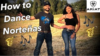 HOW TO DANCE  NORTEÑAS (Step by step)