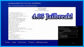 PS4 4.05 Jailbreak Tutorial (easy guide)