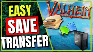Valheim HOW To traฑsfer world SAVE files between PC and Server @Vedui42