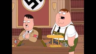 Family Guy- Peters great uncle shoots Hitler