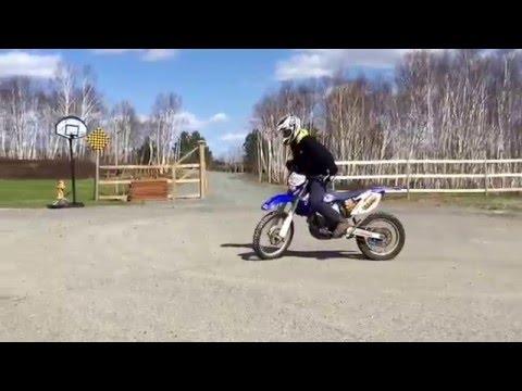 Dirt Bike Burn Out