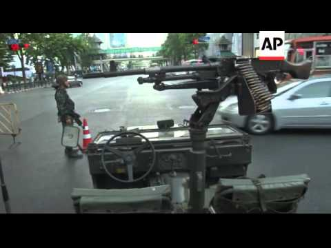 Thailand - Thai PM Yingluck Shinawatra found guilty of abuse of power / Troops on streets of capital
