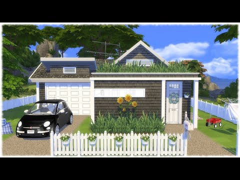 The Sims 4: Speed Build // YOUNG FAMILY TINY HOME