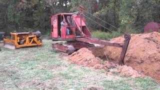 Old Cable Driven Excavator from 2014 Steam O Rame Show