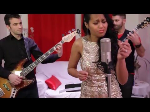 Haingo Nirina-  Cover Rock with you & Overjoyed - La voix 2016