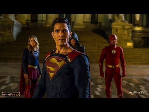 Флэш,Супермен, Стрела и Супергёрл против Амазо | Флэш: Иные Миры