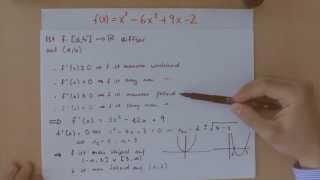 Kurvendiskussion Teil 7 - Monotonie der Funktion