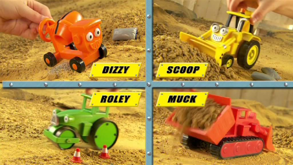 Bob the Builder Vehicles by Character - YouTube
