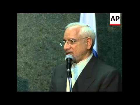 WRAP Head of Iran's Atomic Energy Agency meets Russian counterpart