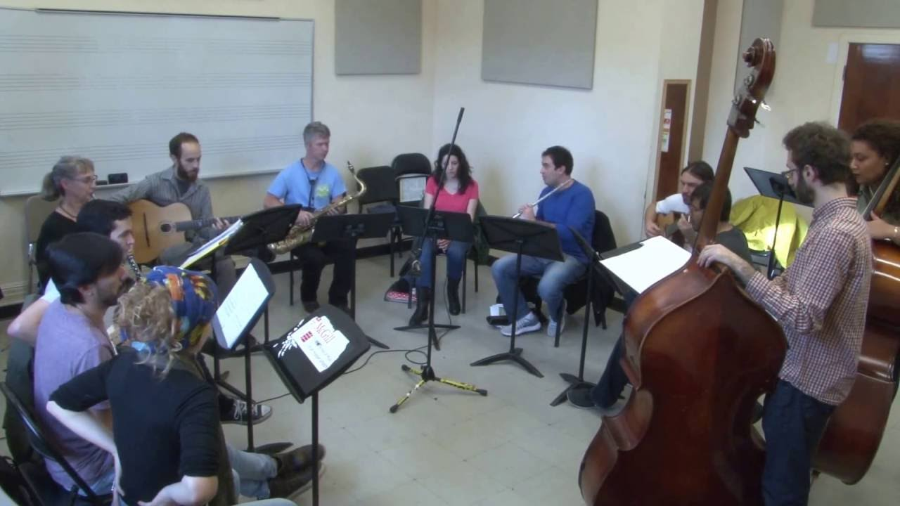 Atelier choro U McGill workshop - 4 nov  2016 - Um Tom Para Jobim