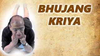 Video Bhujang Asana Kriya For Stomach Ailments and Fixing Spiritual Chakras download MP3, 3GP, MP4, WEBM, AVI, FLV November 2017