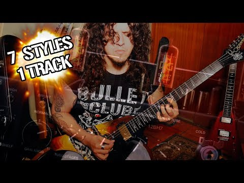7 Rock / Metal Styles in 1 Track!!! (Using BIAS AMP 2)
