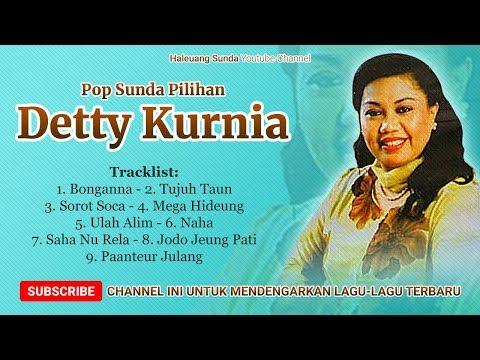 Pop Sunda DETTY KURNIA Full Album Bonganna - Lagu Sunda Pilihan Detty Kurnia