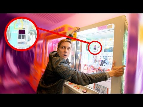 DON'T SHAKE THIS PRIZE MACHINE!!! (HERES WHY)
