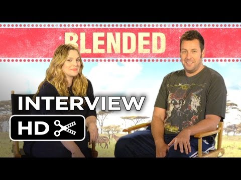 Blended Interview - Drew Barrymore & Adam Sandler (2014) - Comedy HD