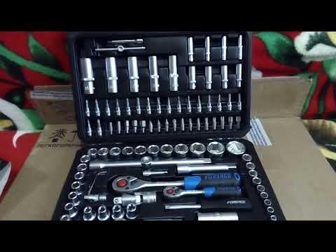 Набор инструментов на 108 пр FORSAGE 41082-5