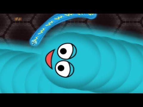 Wormate безумный червяк мультфильм игра клон slither io и wormax io 23