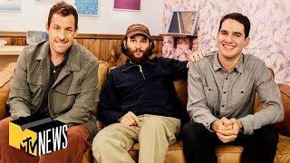Adam Sandler & the Safdie Brothers on 'Uncut Gems,' Fighting The Weeknd & Chris Farley | MTV News
