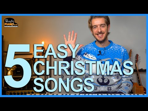 Play 5 Easy Christmas Songs On Piano