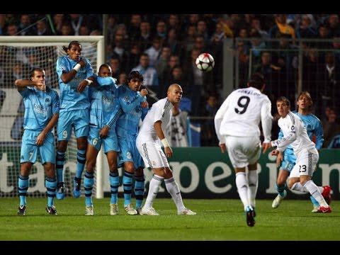 Cristiano Ronaldo vs. Marseille / Retro - 2009