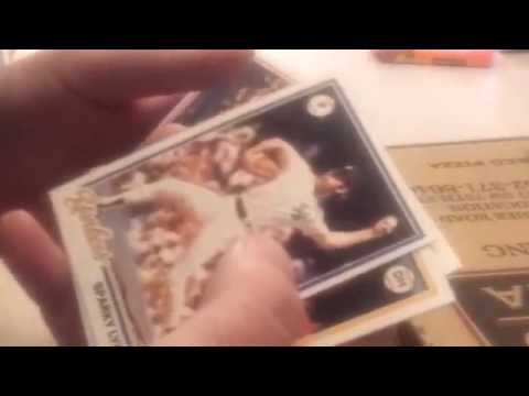 Ripping a pack of 1978 Topps Baseball cards
