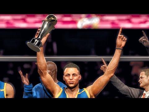 NBA LIVE 18 WARRIORS VS CAVALIERS FINALS...