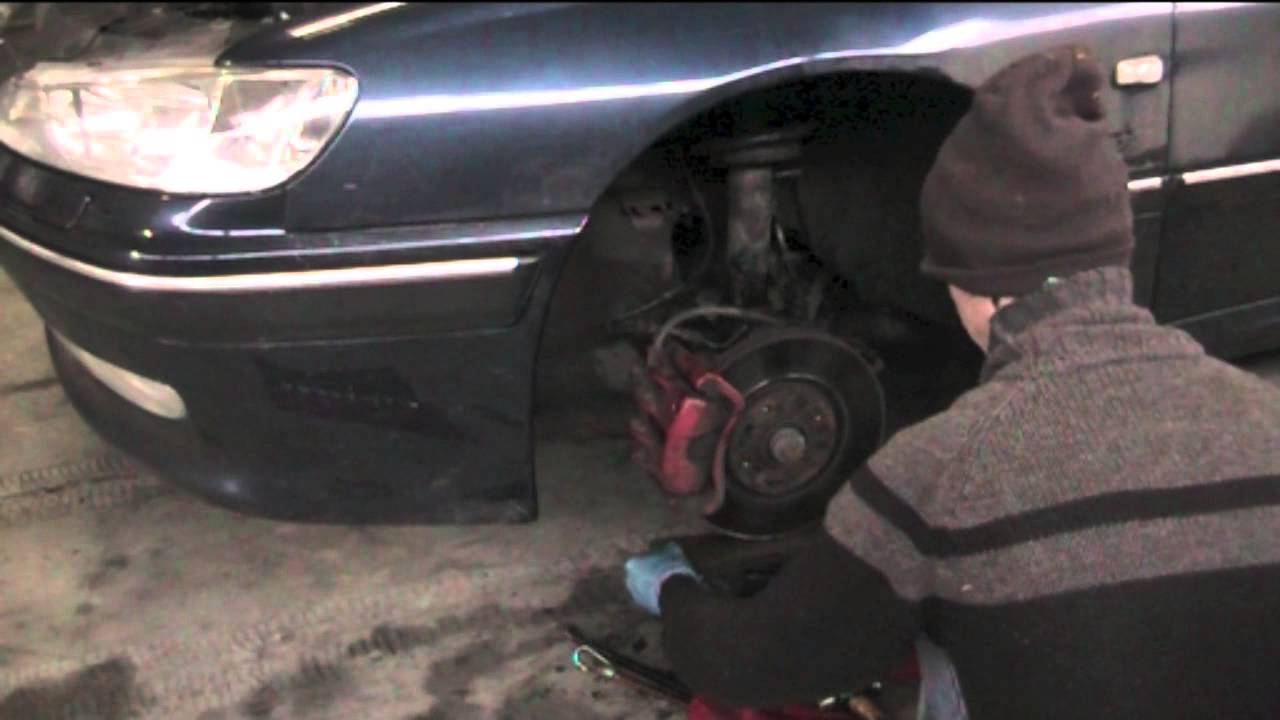 Outer Cv Joint >> Separating wishbone from balljoint - the wrong way - YouTube