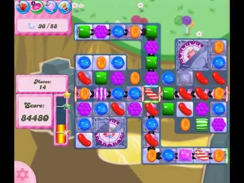 Candy Crush Saga Level 2853 - NO BOOSTERS
