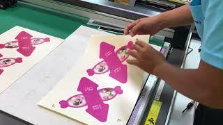 背面印刷面對位切割