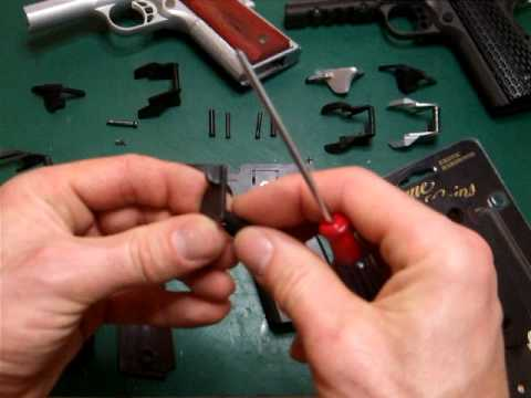 LaZouche Custom airsoft thumb safety's replacements, fitting, problems and fixes.