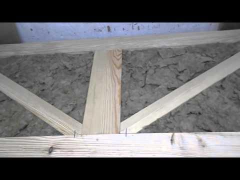 Самые дешевые деревянные двери, своими руками!