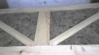 Самые дешевые деревянные двери, своими руками!(Изготовление самых дешевых и простых деревянных дверей своими руками, для подсобных помещений. Композиция..., 2015-10-18T12:28:57.000Z)