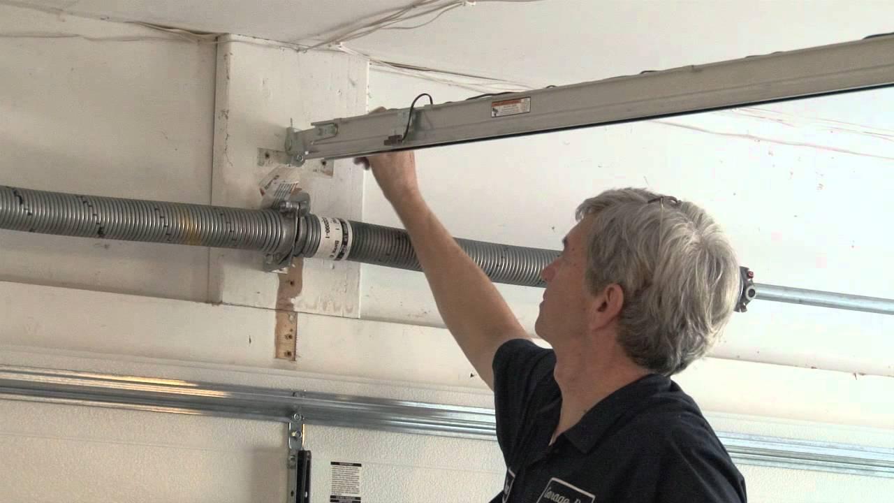 hight resolution of garage door opener installation made easy