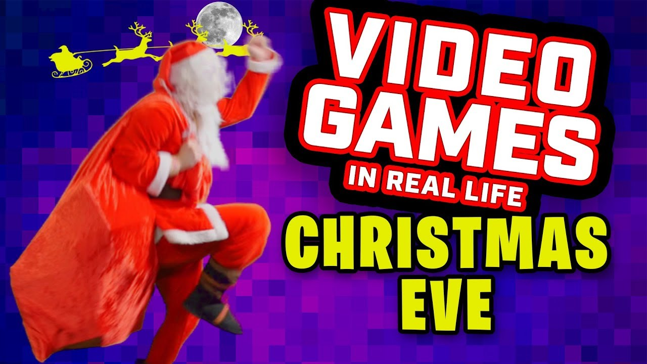 Christmas Eve // VIDEO GAMES IN REAL LIFE, Episode