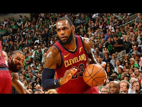 LeBron Off To A Blazing Hot Start With 21 Points In The First